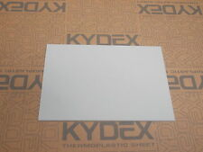 KYDEX SHEET 420 X 297 X 6MM A3 SIZE GREY PINSTRIPE (COLOUR REF 52070)