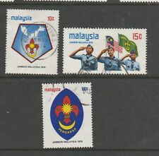 Malaysia 1974 Scout Jamboree Used SG 117/9