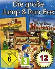 DIE GROSSE JUMP AND RUN BOX * 12 VOLLVERSIONEN * Neuwertig