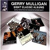 GERRY MULLIGAN: EIGHT CLASSIC ALBUMS  2012  4CD Set  with Chet Baker, Monk, Getz