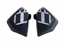 Icon Cloverleaf Moto Motorcycle Track Pants Knee Slider Pucks Kneepucks Velcro