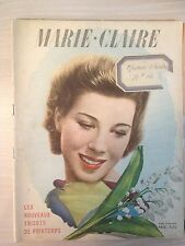 Magazine Marie-Claire French n°116 du 19 Mai 1939 Collection Vintage Fashion