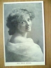 Postcard- Theater Actresses MISS NELLIE BOWMAN