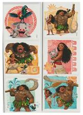 "12 Moana Stickers, Assorted, 2.5""x2.5"" each, Party Favors"