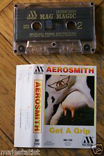AEROSMITH - Get a Grip MC tape RARE POLISH PRESS 1992
