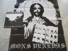 "Mons Veneris - The Last Twilight Of Existence 7"" EP + BIG POSTERNEW+++ ULTRARARE"