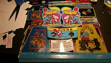 Coleco donkey kong jr  tabletop replacement decals pre cut.