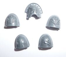 Warhammer 40K Adeptus Astartes Deathwatch Kill Team Shoulder Pads  B x 5 – G469