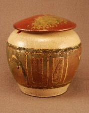 RAKU Unique Ceramic Pet Funeral Cremation Urn #P005