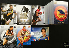 2011 AFL INFINITY BASE CARDS FULL COMPLETE SET 212 CARDS + 4 PROMOTIONAL CARDS