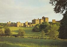 Northumberland Postcard - Alnwick Castle from The Pastures  Across River   AB315