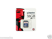 Kingston 16GB SDHC Class 4 SD Flash Memory Card(Mem-SD-Kingston-C4-16G)