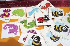 INSECT & REPTILE TATTOOS LOT OF 144 CARNIVALS, PARTIES TOYS FAVORS