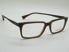 NEW Authentic Emporio Armani EA 3030 5198 Brown Transparent 55mm RX Eyeglasses