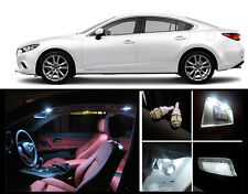 2014 - 2016 Mazda 6 Premium White LED Interior Package (7 Pieces)