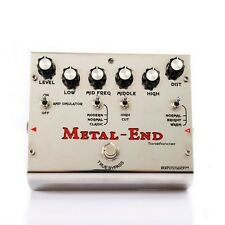 Metal End Distortion Pedal - From Rock to Brutal Tones by Biyang MetalEnd