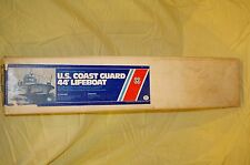 DUMAS BOAT U.S. COAST GUARD 44' LIFEBOAT #S200 WOODEN 33'' MODEL KIT VINTAGE