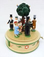 Spieldose Spieluhr Brautzug mit schweizer Musikwerk Handwerkskunst/Erzgebirge