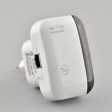 300Mbps WLAN Network Range Expander Extender Wireless WiFi Signal Repeater New