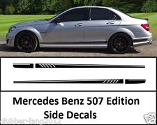 AMG Edition C63 507 Side Stripe Decals Stickers - Mercedes Benz C Class W204