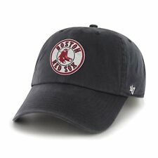 Boston Red Sox 47 Brand MLB Strapback Adjustable Dad Cap Hat Clean Up Circle
