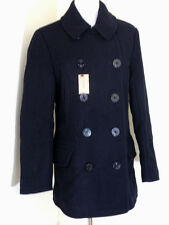 NWT J. CREW Men's Dock peacoat with Thinsulate 05536 $298 Navy Small Coat