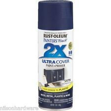 3 Pk Midnight Blue RustOleum Painter´s Touch 2X Ultra Cover Spray Paint 249854