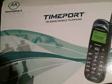 Motorola MT 2 OVP Timeport L Series Tri-Band D1/D2/O2 Sim super ok gebr Art 59 P