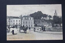 Carte postale ancienne CPA animée CHATEAU-GONTIER - Les Ponts