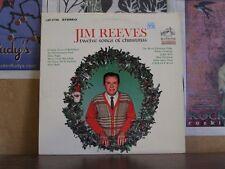 JIM REEVES, TWELVE SONGS OF CHRISTMAS - LP LSP-2758
