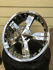 "20"" CHROME ALLOYS ALLOY WHEELS FITS MERCEDES,BMW 3,4,5,VW,AUDI,OTHERS"