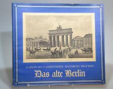 Das alte Berlin Willy Haas 38 Stiche des 19. Jahrhunderts Buch