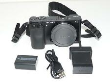 Sony  ILCE-6000LB Alpha 6000 24.3MP Compact System Digital Camera (Body Only)