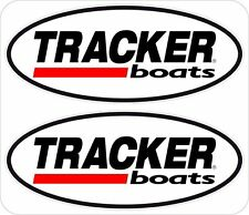 "Tracker Boats 2-6"" Window Decals Logo Emblem Sticker FREE SHIPPING DCB17"