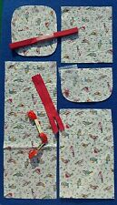 100 X Sets Cath Kidston Purse Cushion Sewing Patchwork Craft Kit zip skiens Job
