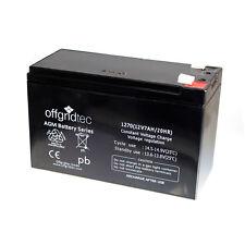 Offgridtec© AGM 7Ah 20HR 12V -  Solar Batterie AKKU Extrem langlebig