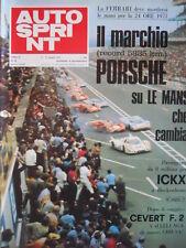 Autosprint n°24 1971 Ferrari Porsche su Le Mans che cambia  [P47]