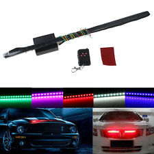 Waterproof 7 Color 22in 48 LED RGB Flash Car Strobe Knight Rider Kit Light Strip
