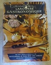 Larousse Gastronomique 1961 Cookbook      (S6