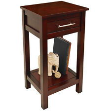 KYOTO - Solid Wood Telephone / End Table - Wenge - OC2270A