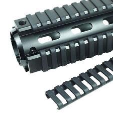 4x Black 17 Slot Ladder Rail Cover Handguard Picatinny Heat Resistant Tool