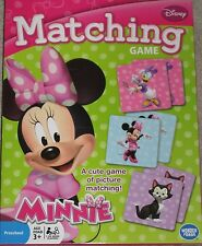 Disney Minnie Mouse Memory Matching Game NEW Sealed Free Priority Shipping !