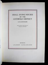 SMALL STONE HOUSES OF COTSWOLD Inscribed: VAN ROOTEN Bookplate Hampden & Spencer