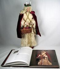 "Santa Lucia 19"" sculpted figure Brenda Goin Morris 1998 (Artists book included)"