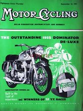 Sep 16 1954 Norton 'Dominator 88' Motor Cycle ADVERT - Magazine Cover Print