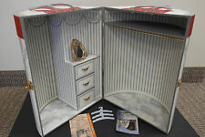 Franklin Mint Scarlett Doll Gone With The Wind Wardrobe Trunk With COA!