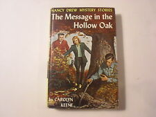 Nancy Drew #12, Message in the Hollow Oak, 1st Picture Cover