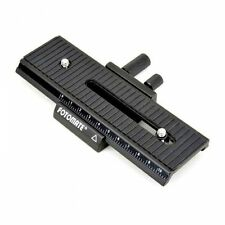 Fotomate LP-01 Macro Focusing Focus Rail Slider UK Seller