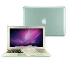 """2 in 1 Crystal GREEN Hard Case for Macbook AIR 13"""" A1369 with TPU Keyboard Cover"""