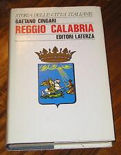 Reggio Calabria Gaetano Cingari Laterza 1988
